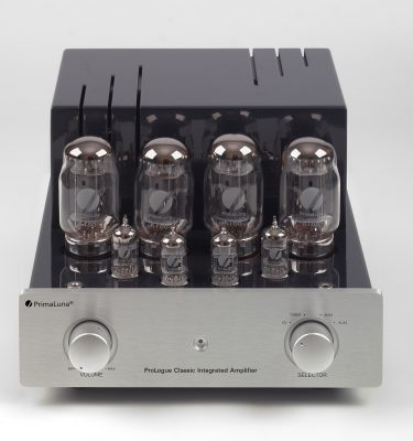 003-PrimaLuna Classic Integrated Amplifier-zilver