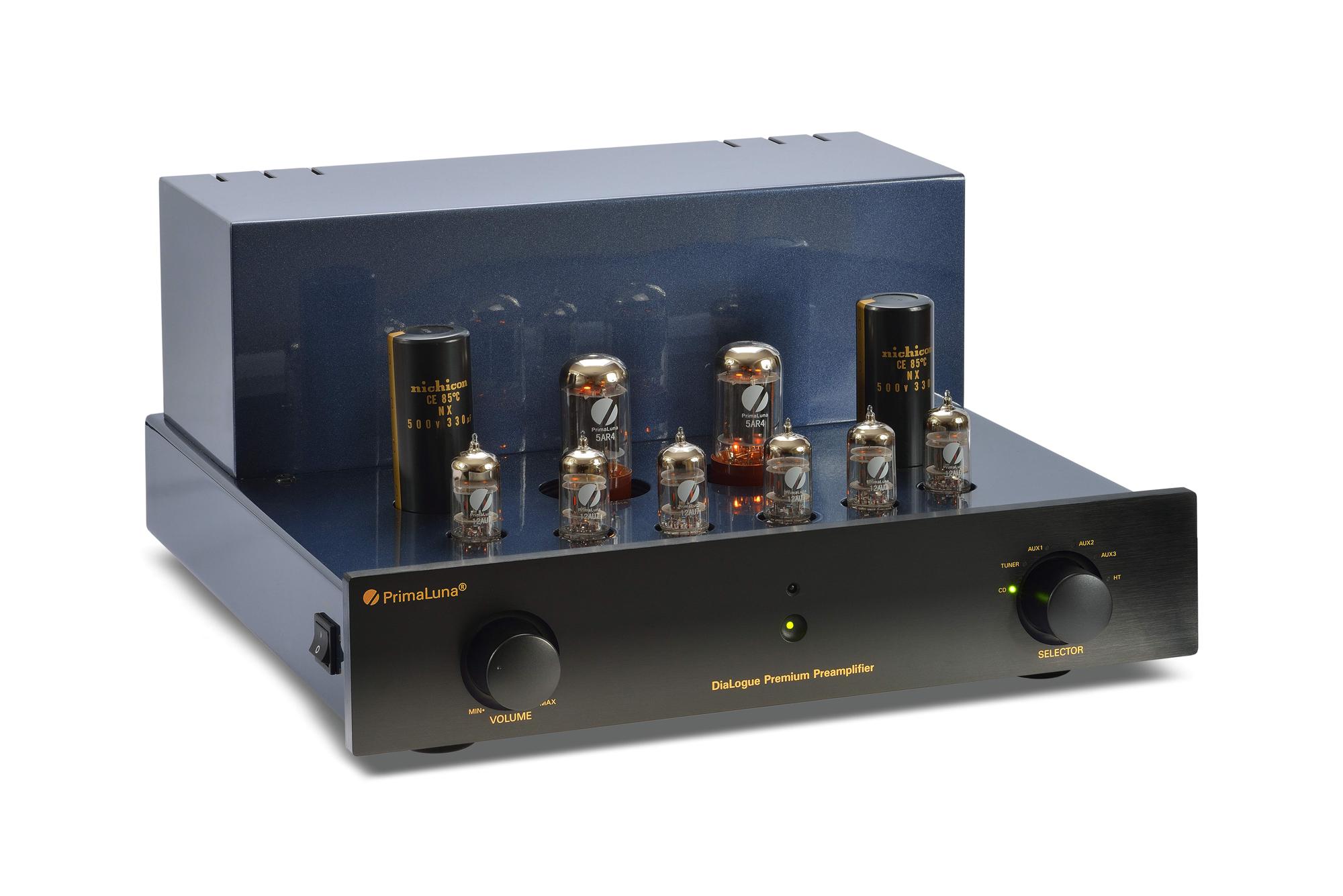 PrimaLuna Dialogue Premium Pre Amplifier - Magenta Audio